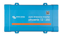 Инвертор 200 ватт  Phoenix Inverter 12/250-230V VE.Direct Schuko